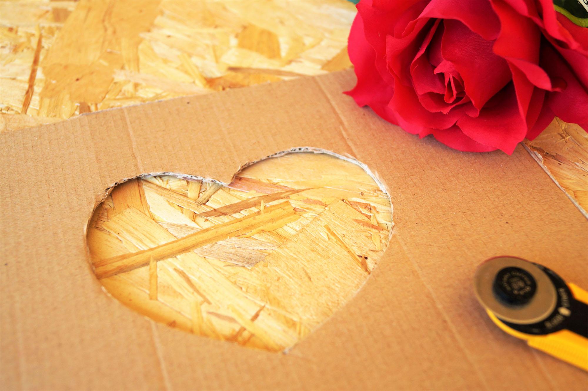 fabriquer un cadeau de saint valentin. Black Bedroom Furniture Sets. Home Design Ideas