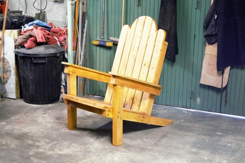 J 39 ai fabriqu un fauteuil de jardin en palettes jeanne s for Fabrication de fauteuil de jardin en palette