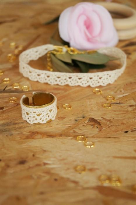 tuto bracelet en dentelle par jeanne s'amuse