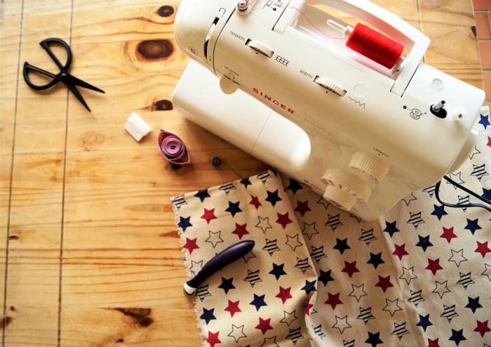 débuter en couture avec une machine - jeanne s'amuse