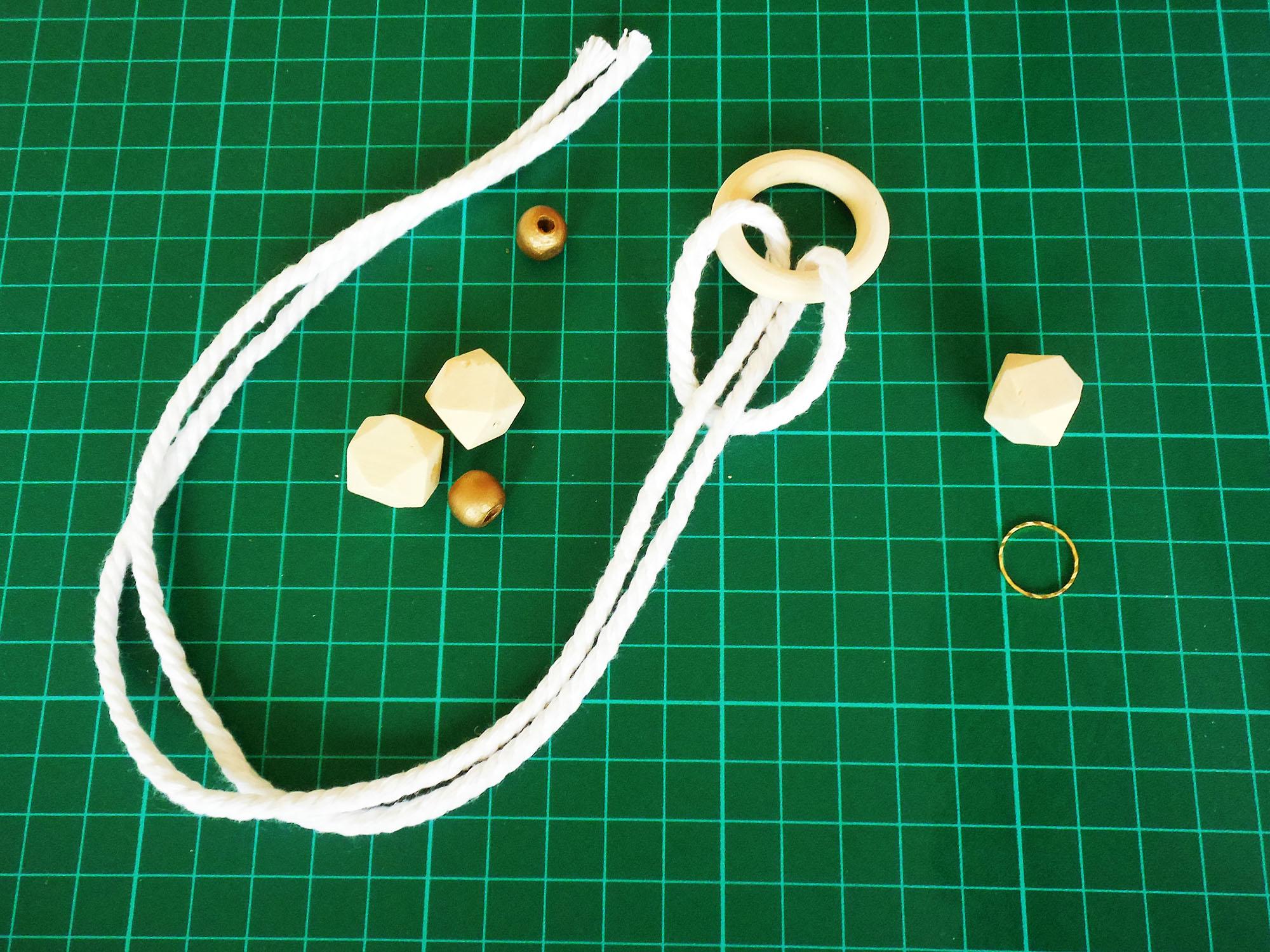 tuto facile fabriquer une suspension de noel - Jeanne s'amuse