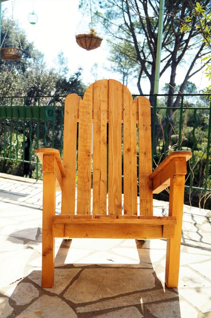 fabriquer un fauteuil de jardin en palettes - blog jeanne s'amuse