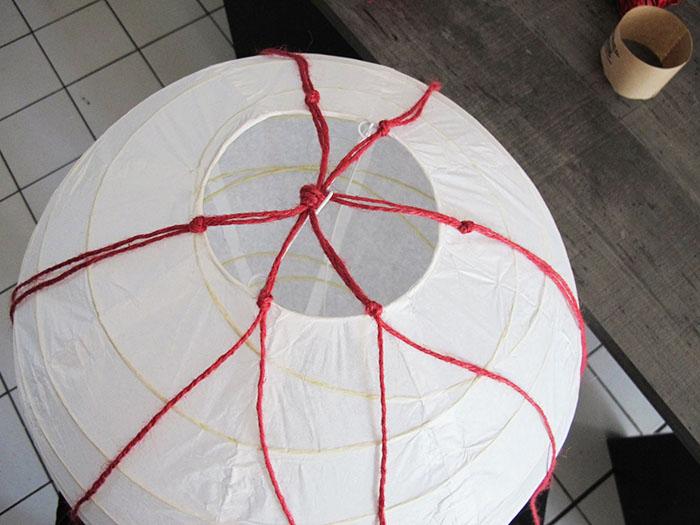 tuto montgolfière en papier sur le blog diy jeanne s'amuse